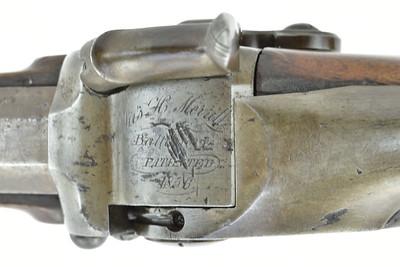 Patent half stock sporting rifle (NSN, MLT) 2