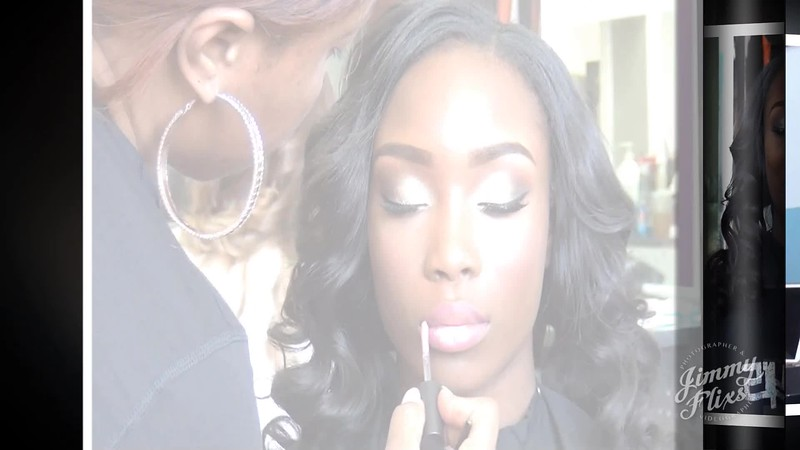 Sade's Sweet 16 Getting Her Make-Up Done