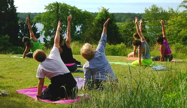2014 Yoga at Slocum's River Reserve