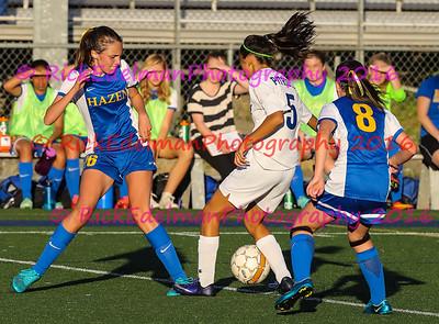 Hazen vs. Liberty JV Soccer