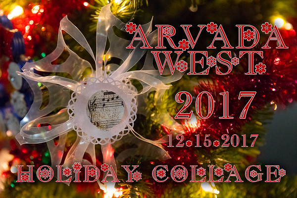 Arvada West Holiday Collage Concert 12-15-2017