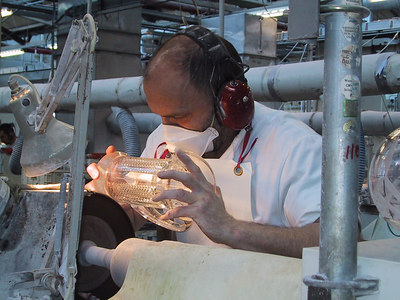 Behind the Scenes at Waterford Crystal