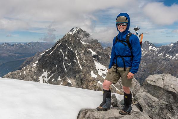 Mount Crosscut West Peak, 24 December 2014