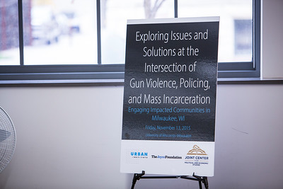 Gun Violence, Policing, & Mass Incarceration Roundtables