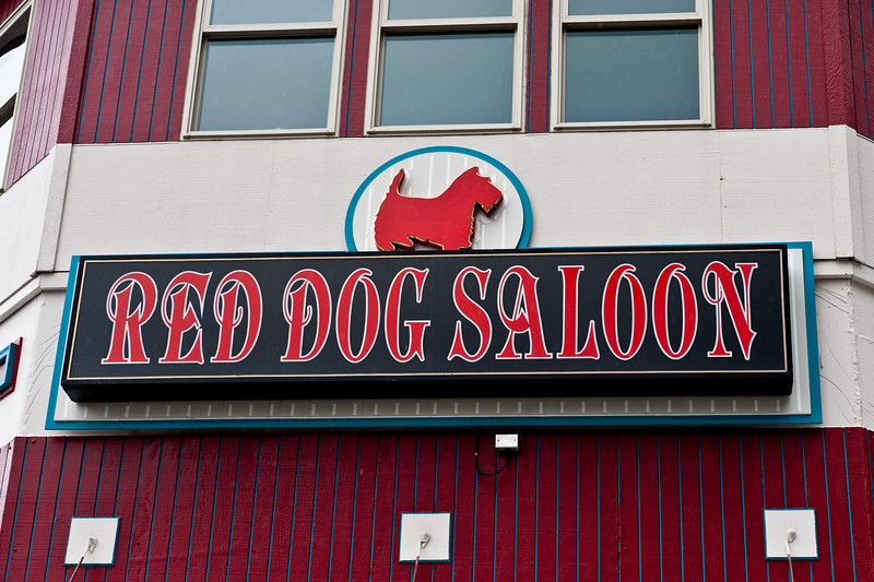 Juneau is home of the famous Red Dog Saloon