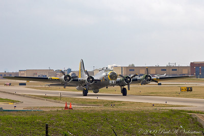 B-17 Liberty Belle, Addison TX, 03-07-09