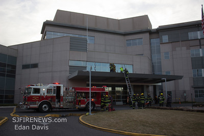 02-06-2014, Commercial Structure, Vineland City, Cumberland County, 1501 W. Sherman Ave. Inspira Medical Center.
