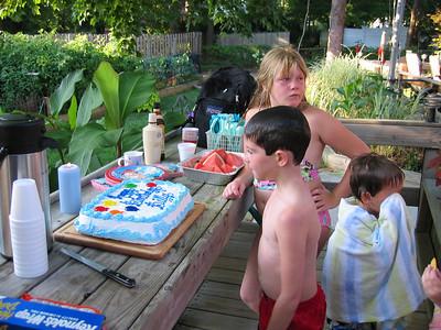 Family BBQs Summer 2007