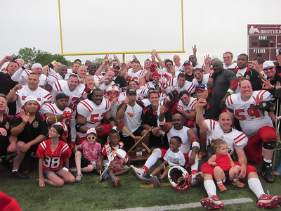 2014-07-07, CFD&CPD Football game