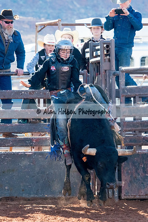 2018 Junior High Rodeo (Saturday) - Bull Riding