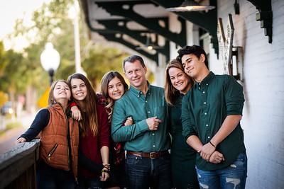 Downtown Tarpon Springs- The Parrish Family 2018
