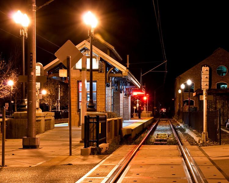 VTA light rail station at Campbell
