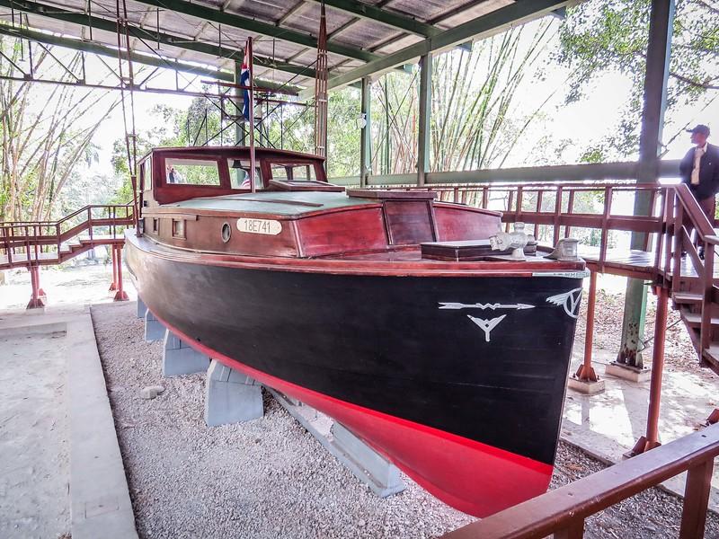 Ernest Hemingway's hand-built boat.