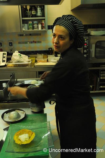 Learning about Ciaffagnone, a Manciano specialty - Maremma, Italy