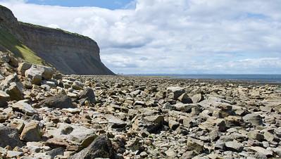 Túra zo Skinnigrove do Saltburn po pobreží, 26. júl 2020