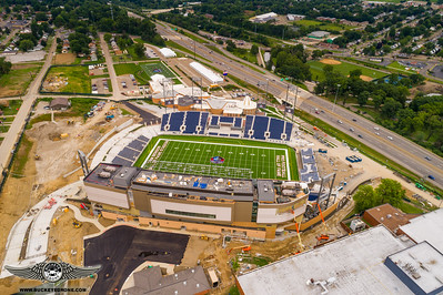 Pro Football Hall of Fame Construction 7-23-2017