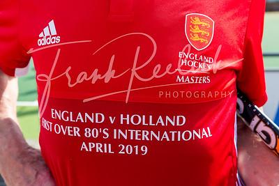 2019 First Over 80's International Match