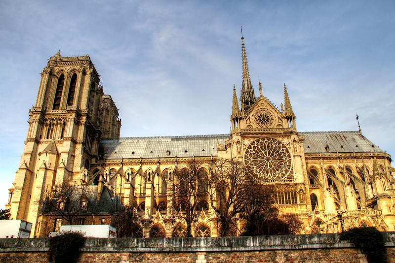 The South Facade of Notre Dame