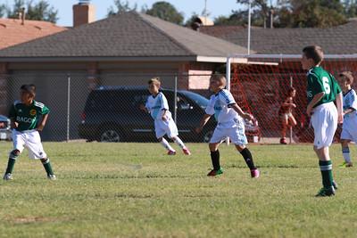 Andrew's Soccer Game 11-2-13