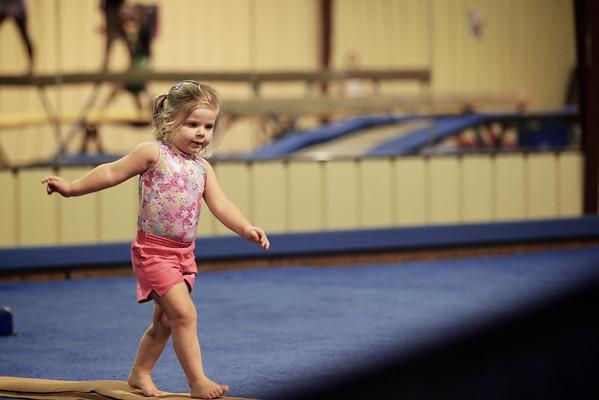 Betsy Gymnastics August 2012