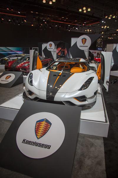 New York International Auto Show April 1, 2018