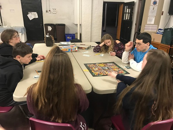 2018.01 Middle School Game Night