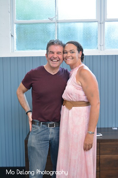 Adrian Gregorutti and Jennifer Bowman