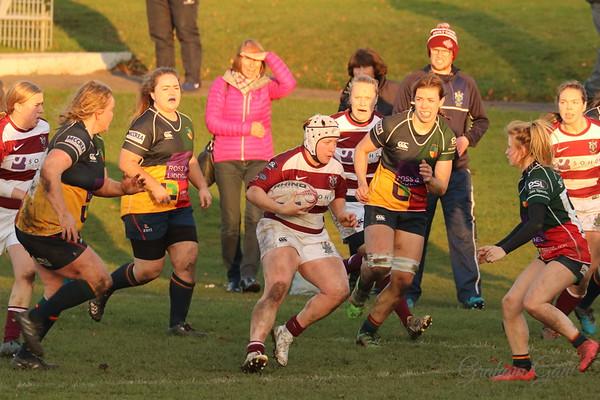 Watsonian Ladies v Hillhead Jordanhill RFC