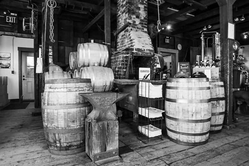 Ironworks distillery, Lunenburg
