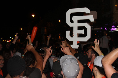 Giants World Series Celebration @ The Mission