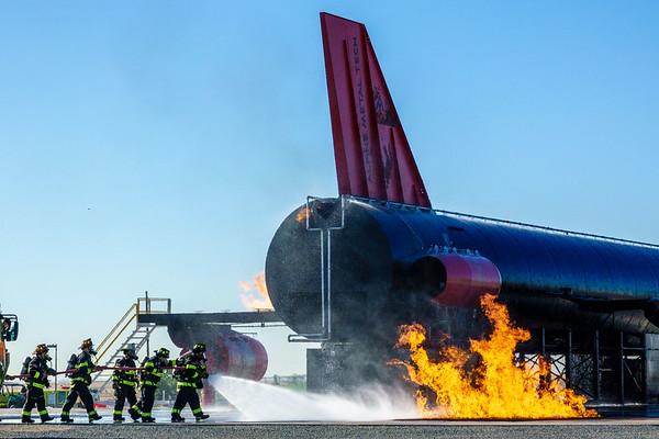 09-02-20 Plane Crash Fire Rescue Exercise