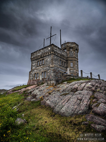 Cabot's Tower on Signal Hill     Photography by Wayne Heim