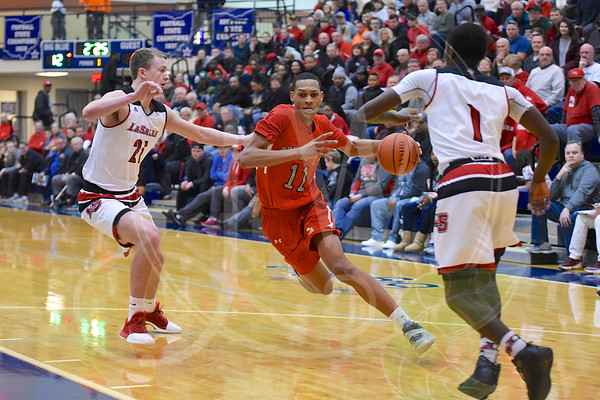 Princeton vs. LaSalle (Sectional Boys Final at Hamilton High 3.3.17)