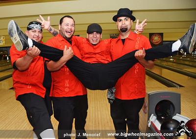 Los Valientes - Punk Rock Bowling 2012 Team Photos - Gold Coast - Las Vegas, NV - May 26, 2012
