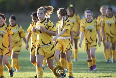 Minneapolis Roosevelt v Cristo Rey Girls Soccer 10-3-11