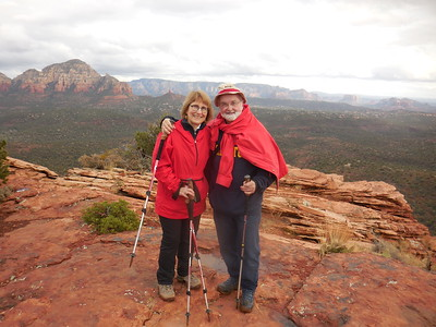 Sedona 2018 Jim and Cynthia