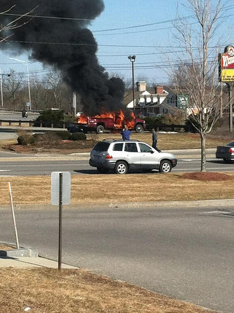 Wendy's Truck Fire March 12, 2012