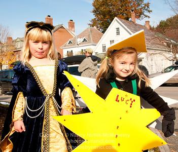 Elementary School Halloween Parade