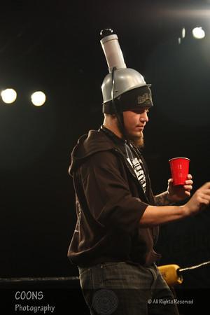 CZW 1/14/12 - Danny Havoc Toast