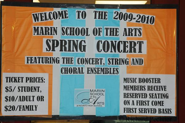 Spring Concert, String & Choral