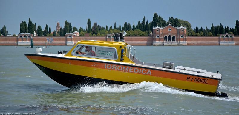 Ambulance Venetian style