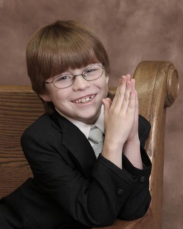 Alex 1st Communion