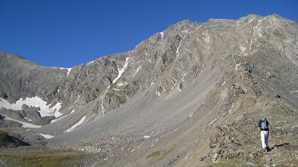 Torreys Peak via Kelso Ridge 8/30/08