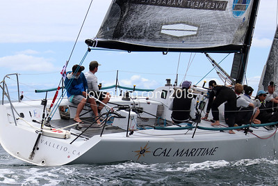 Day 3 of the Farr 40 North Americans at LBYC