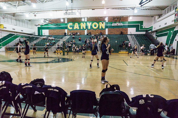 10'27'15 Varsity vs Canyon