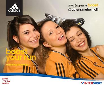Adidas Boost Your Run @ Metro Mall