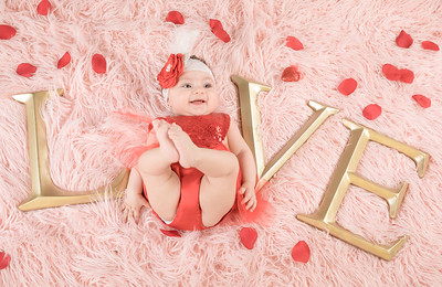 Natalia's 1st Valentines Day!