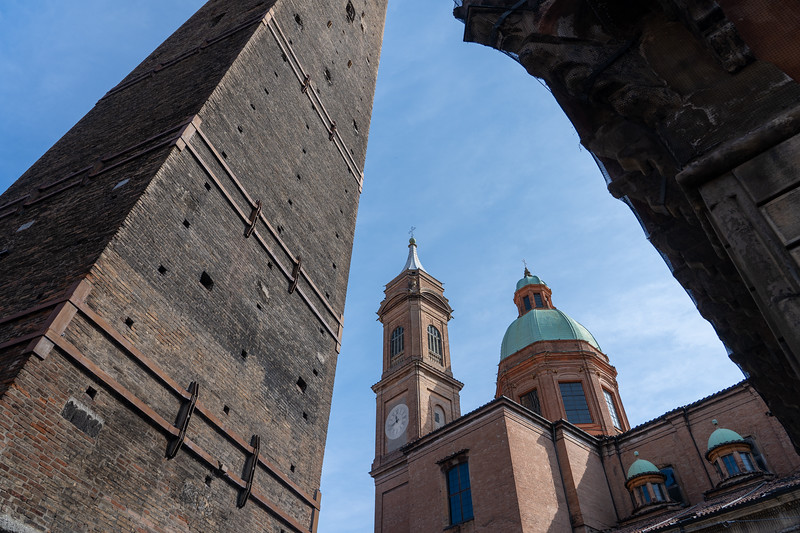 Garisenda Tower in Bologna