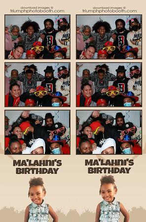 11/27/20 - Ma'Lahni's Birthday