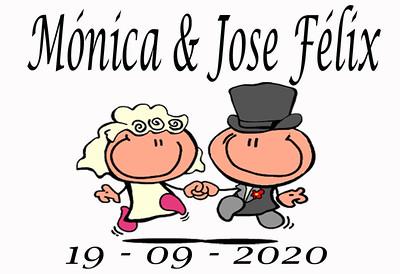 Mónica y Jose Félix